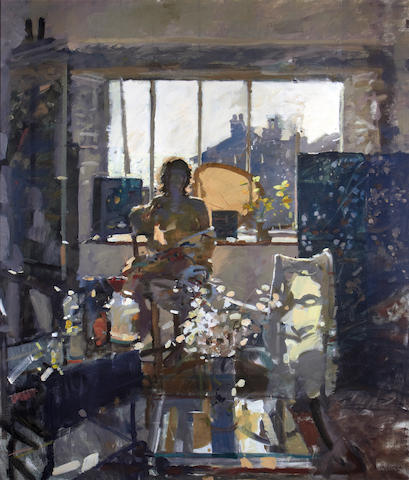 Ken Howard R.A. (British, born 1932) Studio interior