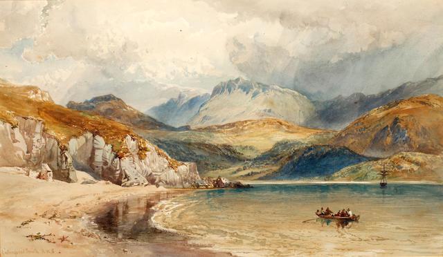 William Collingwood Smith, RWS (British, 1815-1887) Cader Idris, from Barmouth, North Wales