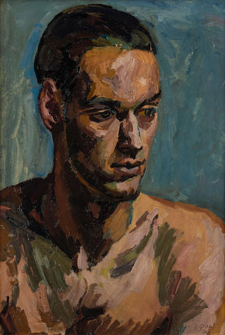 Duncan Grant (British, 1885-1978) Portrait of a young man