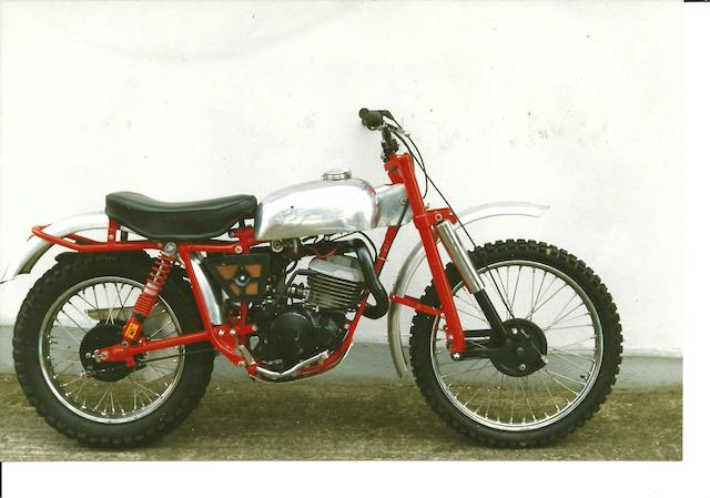 c.1959 DoT-Villa 360cc Trials Motorcycle Frame no. H 59 0132 Engine no. FV 3251186
