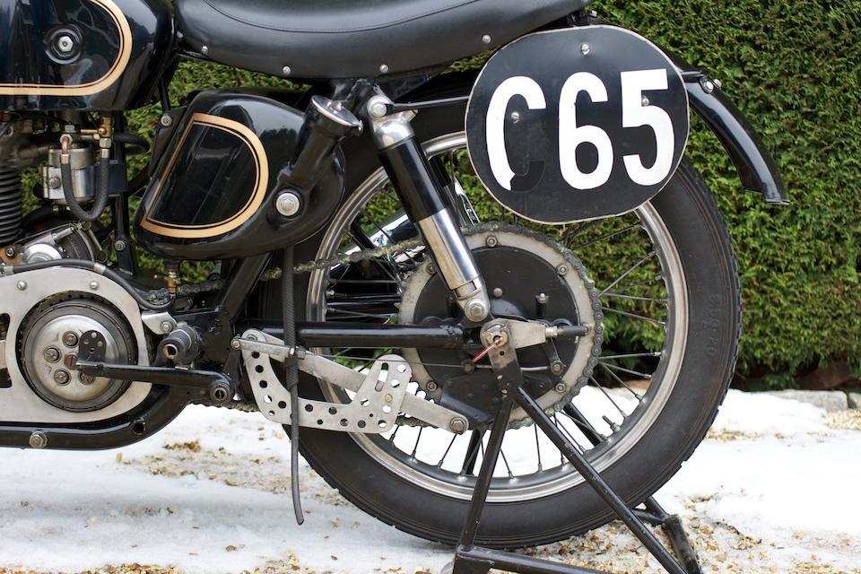 1949 AJS 7R 350cc Racing Motorcycle Frame no. 1323 Engine no. 48/7R 510