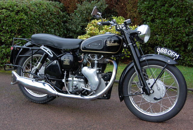 1959 Velocette 499cc Venom Frame no. RS 13695 Engine no. VM 3708