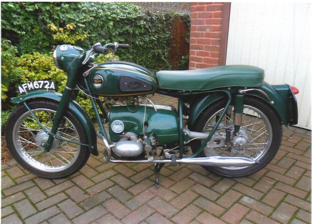 800 miles since restoration,1963 Velocette 192cc Valiant Frame no. 254533 Engine no. V200 2534