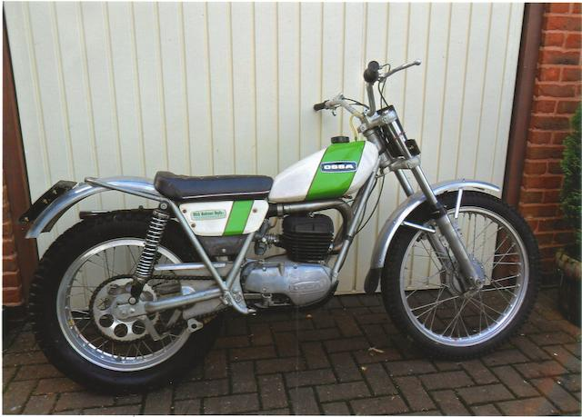 96 miles from new,1972 OSSA 244cc MAR Trials Motorcycle Frame no. B341246 Engine no. M341246