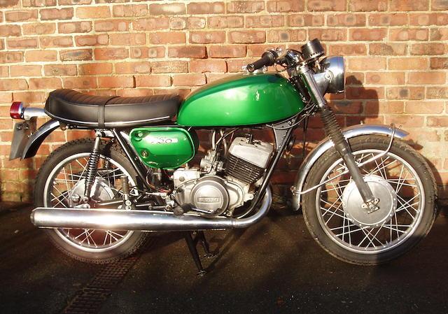 1972 Suzuki 250 Hustler