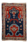 An Anatolian prayer rug, circa 1900, 6 ft 7 in x 4 ft 2 in (201 x 127 cm) minor corrosion and minor wear