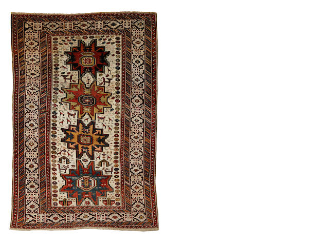 A Kuba rug, East Caucasus, circa 1900, 6 ft 8 in x 4 ft 7 in (204 x 139 cm) some minor wear