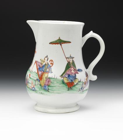 A rare Worcester jug