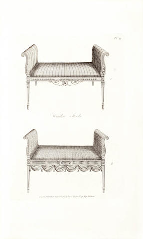 HEPPLEWHITE (ALICE) The Cabinet-Maker and Upholsterer's Guide; or, Repository of Designs for Every Article of Household Furniture, third edition, 1794