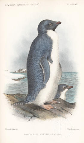 "BORCHGREVINK (CARSTEN E.) Report on the Collection of Natural History made in the Antarctic regions during the Voyage of the ""Southern Cross"", FIRST EDITION, Trustees of the British Museum, 1902"