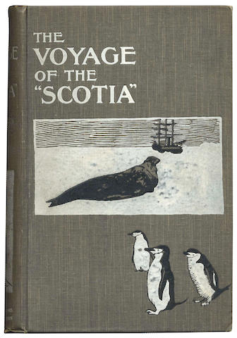 "BROWN (R.N. RUDMOSE), R. C. MOSSMAN and J.H. HARVEY PIRIE The Voyage of the ""Scotia"", FIRST EDITION, William Blackwood & Sons, 1906"