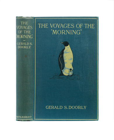 """DOORLY (GERALD S.) The Voyages of the """"Morning"""", FIRST EDITION, Smith Elder, 1916"""