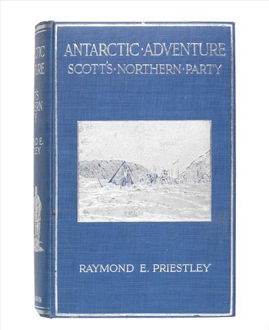 PRIESTLEY (RAYMOND E.) Antarctic Adventure: Scott's Northern Party, FIRST EDITION, Fisher Unwin, 1914