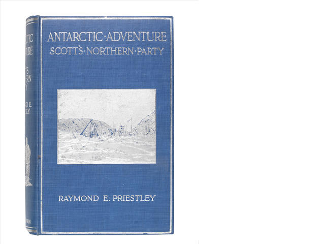 PRIESTLEY (RAYMOND E.) Antarctic Adventure: Scott's Northern Party, FIRST EDITION, Fisher Unwin, 1914