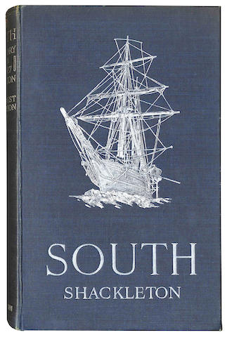 SHACKLETON (ERNEST H.) South. The Story of Shackleton's Last Expedition 1914-1917, FIRST EDITION, William Heinemann, 1919