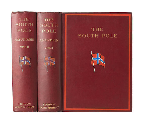 "AMUNDSEN (ROALD) The South Pole. An Account of the Norwegian Antarctic Expedition in the ""Fram"" 1912-1912, John Murray, 1912"