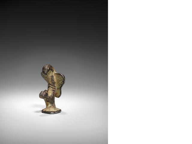 A Roman silver eagle