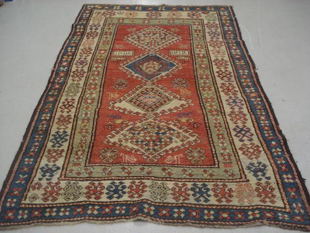 A Kazak rug, Central Caucasus, 210cm x 134cm