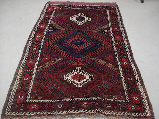 A Belouch rug, Persian/ Afghan border, 220cm x 124cm