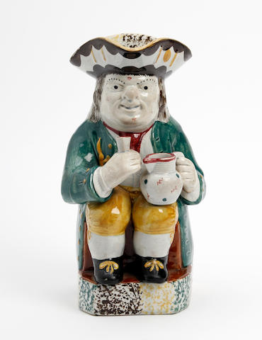 A Staffordshire Ordinary-type Toby jug, circa 1825