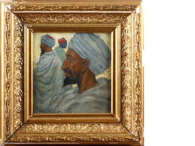 Archibald Stevenson Forrest (British, 1869-1963) Moroccan Gentlemen