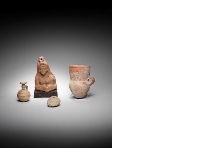 A group of antiquities (4)