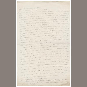 "MARKHAM (CLEMENTS) Autograph manuscript titled ""Robert Falcon Scott"", 2pp., in ink, folio, [undated]"