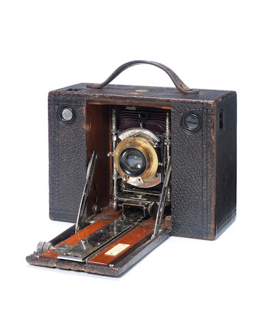 "CAMERA - ""Eastman Kodak Co. No. 3 Cartridge Kodak"", belonging to J.D. Morrison"