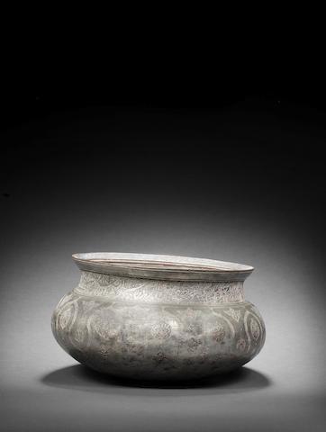 A Safavid tinned-copper Bowl Persia, late 16th Century