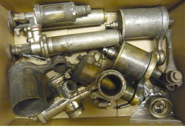 Two clip-fitting AMAC carburettors,