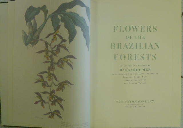 MEE (MARGARET) Flowers of the Brazilian Forest, NUMBER 260 OF 506 COPIES, 1968