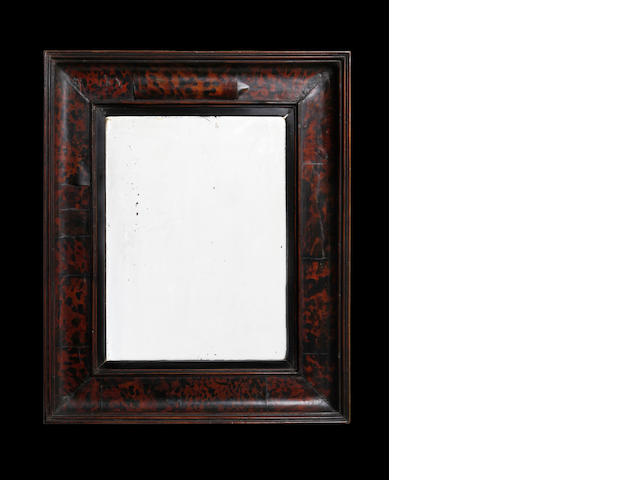 An 18th Century tortoiseshell mirror