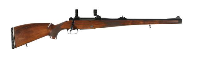 A .243 (Win) 'Mod. 77' Stutzen by Mauser, no. 03756