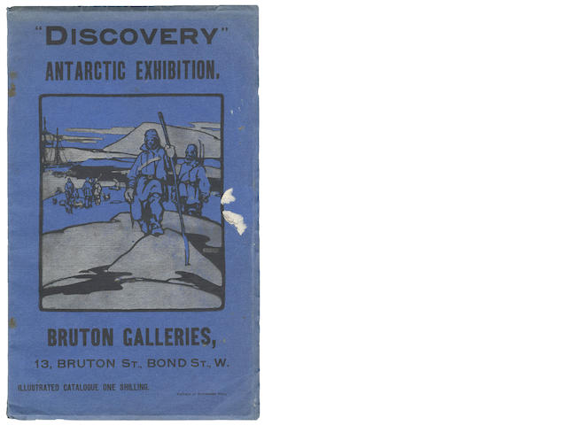 "BRUTON GALLERIES, EXHIBITION ""Discovery"" Antarctic Exhibition. Bruton Galleries, 13 Bruton St., Bond St., W., 84pp, illustrations, 1904"