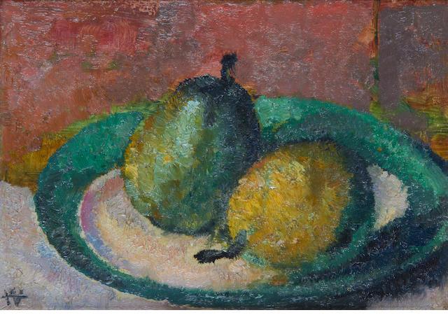 Alfred Aaron Wolmark (British, 1877-1961) Still life