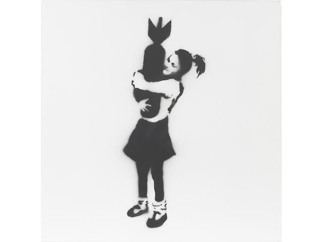 Banksy (b. 1975) Bomb Hugger