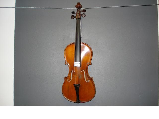 A Violin of the Scottish School circa 1820 (1)