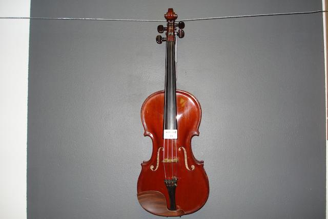 A Mirecourt Violin circa 1920 (1)