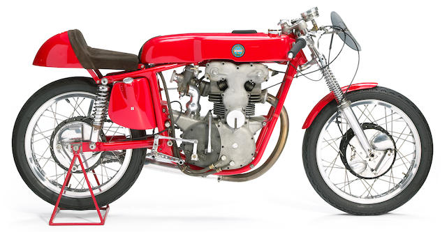 One of four constructed,c.1958 Benelli 248cc Grand Prix Racing Motorcycle Frame no. GPX1003 Engine no. GPX1003