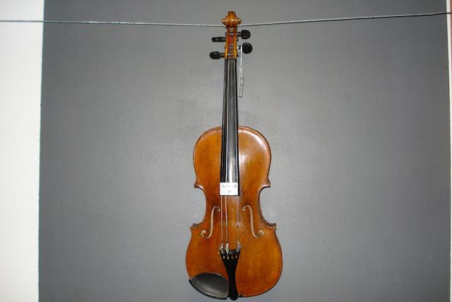 A German Violin attributed to Ignaz Hoffmann, Wolfelsdorf, 1770 (3)