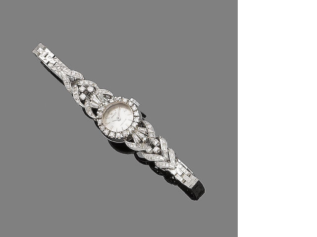 A ladies diamond-set cocktail watch, by Rolex