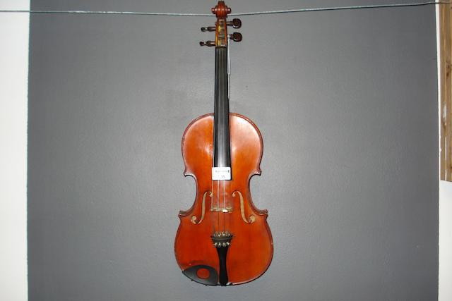 A French Violin, Buthod School, circa 1900 (4)