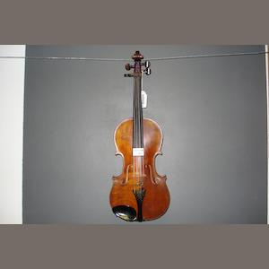 A Violin attributed to G.A. Barnes, Manchester, 1919 (3)