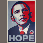 Shepard Fairey (b. 1970) Hope