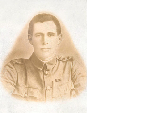 OATES (LAWRENCE EDWARD GRACE) Head and shoulders portrait in military uniform