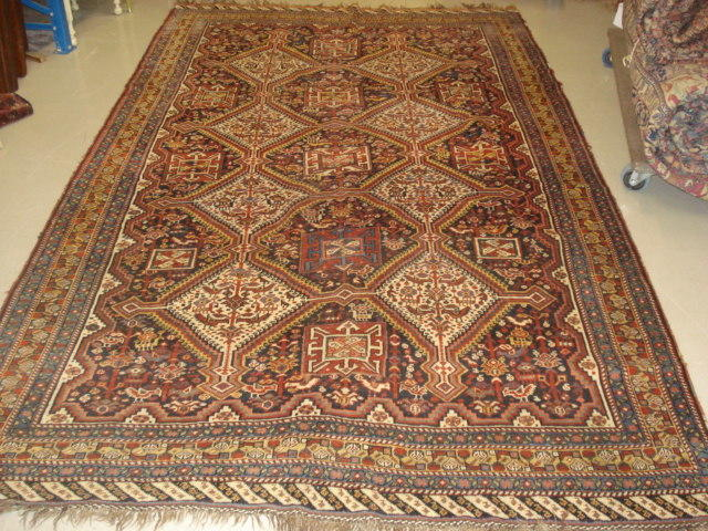 A Kashgai rug, South West Persia, 300cm x 182cm