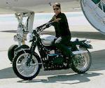 The ex-Mission Impossible III,c.2005 Triumph 865cc Bonneville Scrambler Frame no. SMTTJ910TM4201514