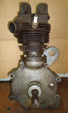 A circa 1931 500cc Rudge Special engine,