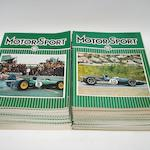 A run of Motor Sport loose issues, 1963-69,