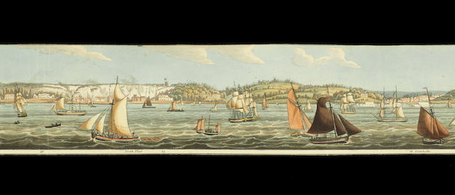 PANORAMA : costa scena, Kent, Robert Havell Jr, March 1823